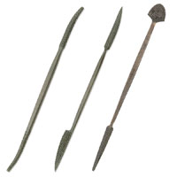 Medium Riffler-Rasps for Wood and Stone Carving from Sculpture House