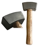 Premium Stone Carving Hammer - 1 1/2 lbs.