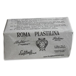 ROMA Plastilina - Grey-Green - No. 3 - Medium-Firm - 2 lbs.