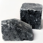Charcoal Grey Soapstone  - 2-lb. Pieces - Set of 2