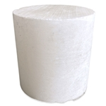 Translucent White Alabaster Cylinder - Small