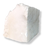 Opaque White Alabaster - 4 lb. Rough Cut