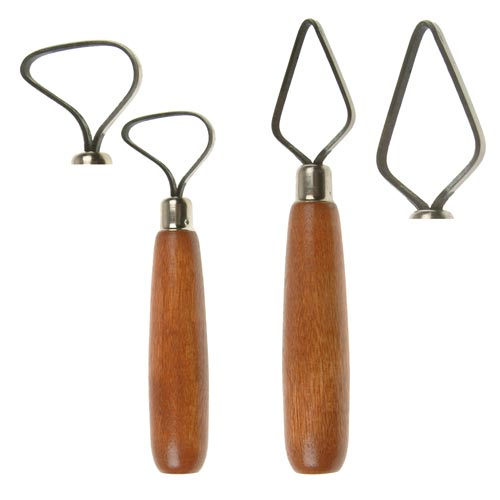 Ceramic Loop Tools - Set of 2 Tools