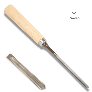 Wood Carving V-Parting Tool No. 41 - 1/8""