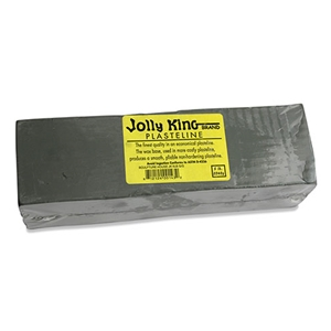Jolly King Plasteline - Grey-Green - 5 lbs.