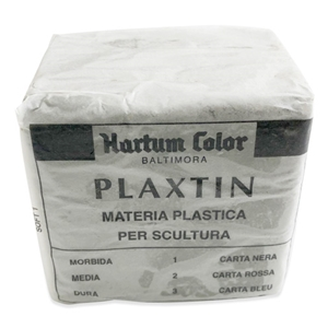 Plaxtin Modeling Material by Fiaba - Soft - Case - 24 0.5-kg Units