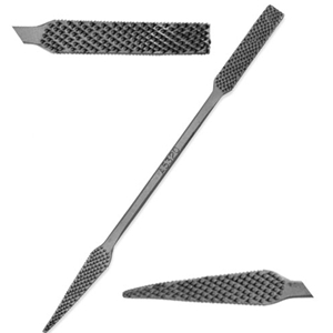 "Italian Hand-Cut Stone/Wood Carving Rasp - 8"" - No. A5320"