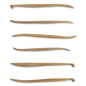 Detailing Boxwood Tool Set - Set of 6 Tools