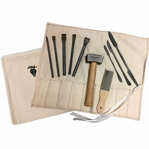 Stone carving tools and carving sets from sculpture house