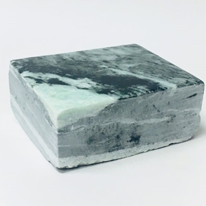 Sea Swirl Green Soapstone - 2 lb. Block