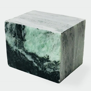 Sea Swirl Green Soapstone - 8 lb. Block