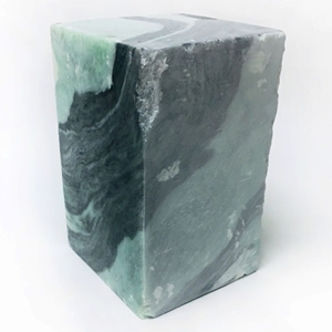Sea Swirl Green Soapstone - 10 lb. Block