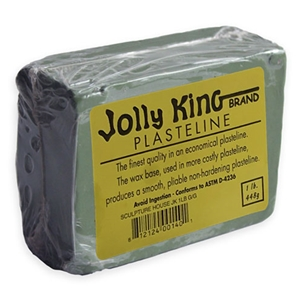 Jolly King Plasteline - Grey-Green - 1 lb.