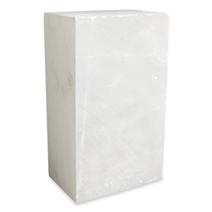Translucent White Alabaster Block - Small