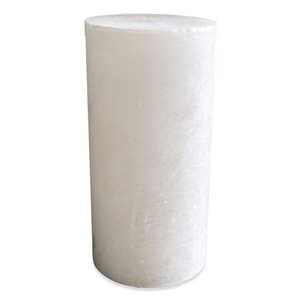 Translucent White Alabaster Cylinder - Medium