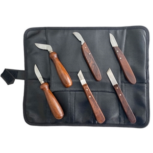 Soapstone Carving Knife Set - 6 Knives