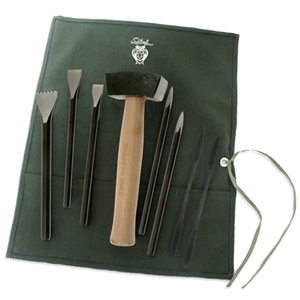 Alabaster Stone Carving Set