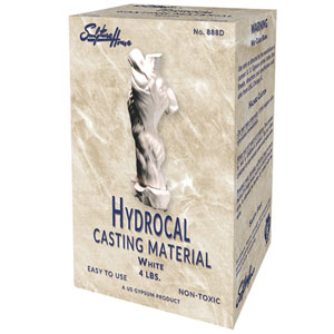 Hydrocal Casting Material - White - 4 lbs.