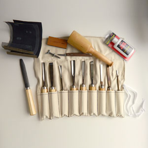 Wood Workers Carving Set