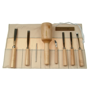 Basic Wood Carving Set - K5A
