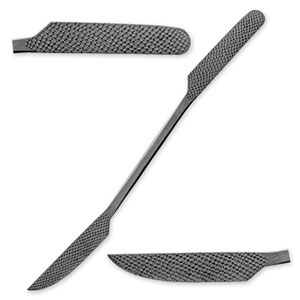 "Italian Steel 12"" Stone and Wood Carving Rasp - A130"