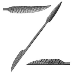 "Italian Steel 12"" Stone and Wood Carving Rasp - A230"