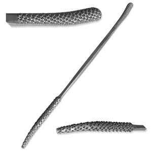 "Italian Steel 8"" Stone and Wood Carving Rasp - A1320"