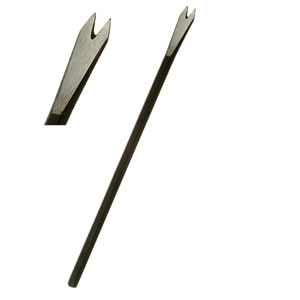 Mini Stone Carving 2-Tooth Chisel - M1