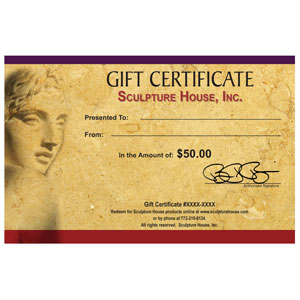 Sculpture House Gift Certificate - $50