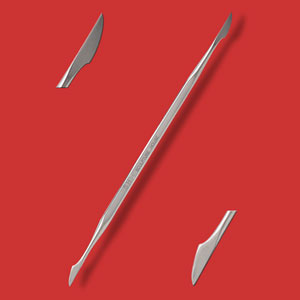 Stainless Steel Detailing Tool - No. 01
