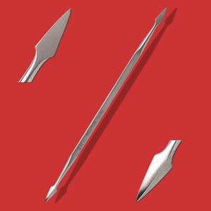 Stainless Steel Detailing Tool - No. 04