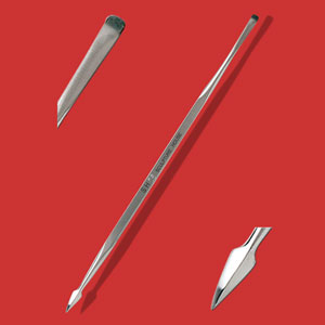 Stainless Steel Detailing Tool - No. 06