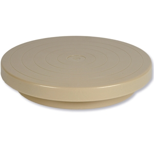 Potters Plastic Turntable